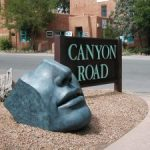 canyon road statue