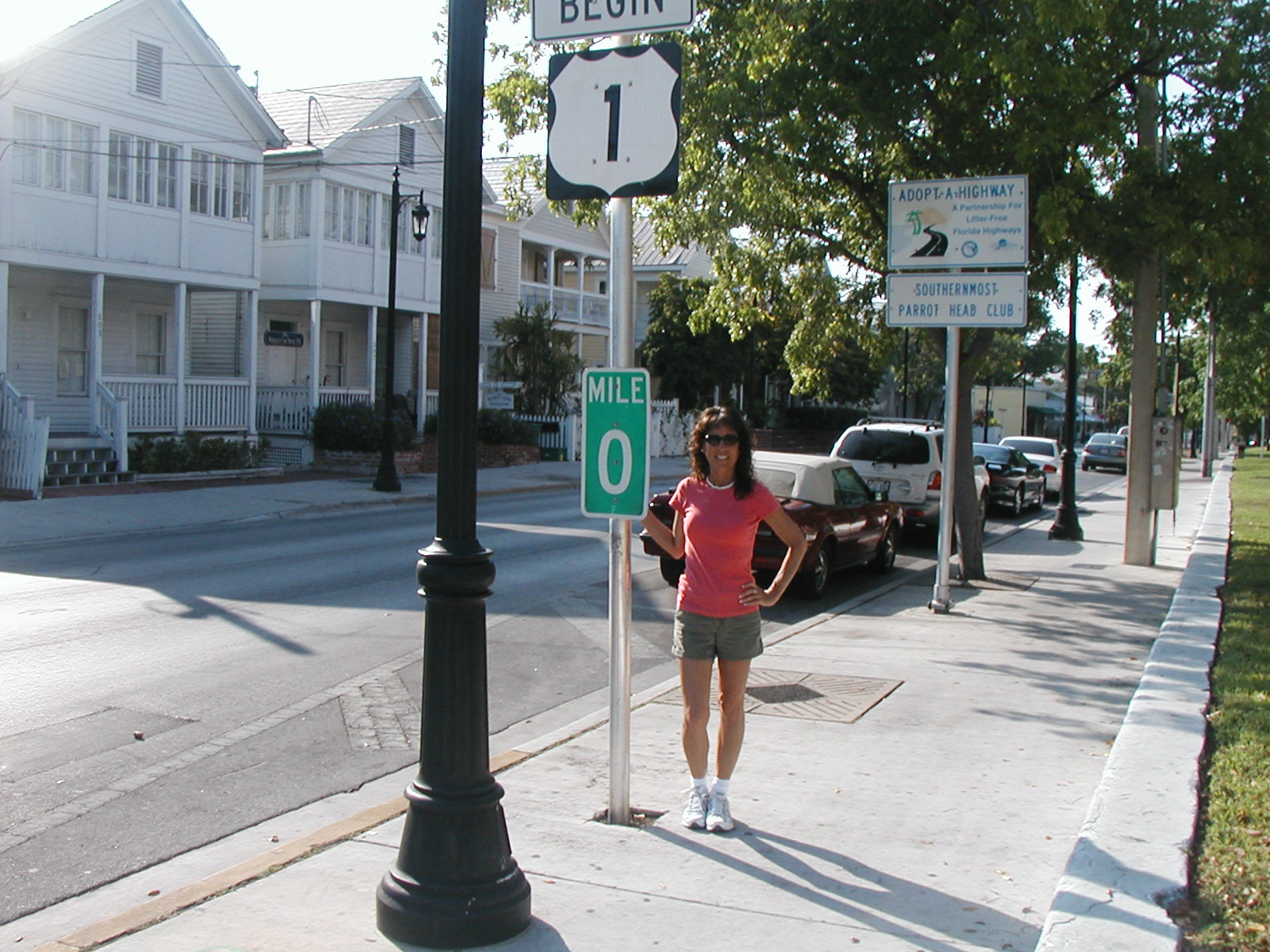 Mile 0 in Key West